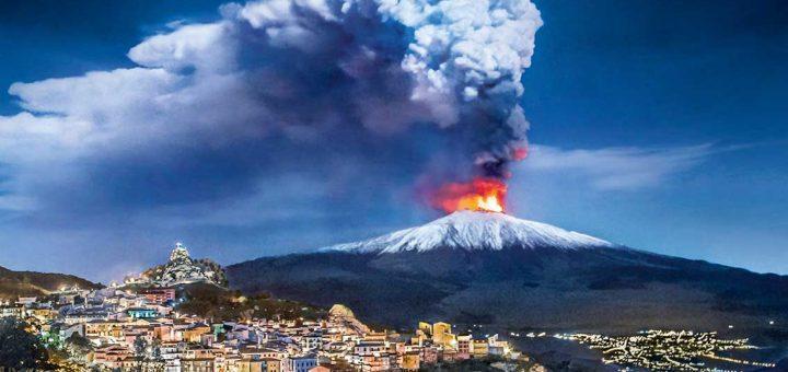 Etna Yanardağı Denize Çökebilir
